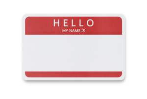 The importance of a name…