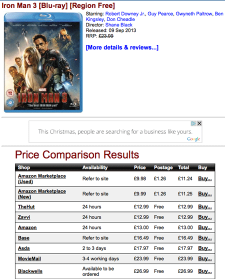 How to get the best possible prices on DVDs and Blu-rays (without doing any research)